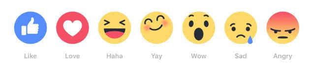 Nuevas reacciones llegaran pronto a Facebook