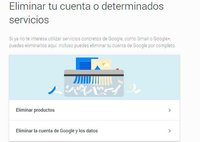 como eliminar cuenta de google.4 - Cómo eliminar cuenta de Google