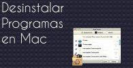 Cómo desinstalar un programa en MAC